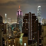 view from my penthouse suite in central Hong Kong in Hong Kong, , Hong Kong SAR