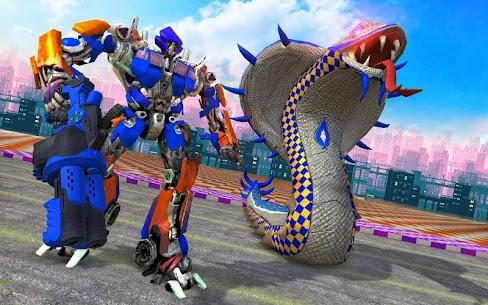 Snake Robot Transform Battle 4