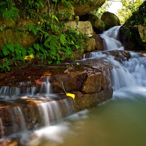 A cooling Afternoon by Christopher Harriot - Landscapes Waterscapes ( waterfall, penang )
