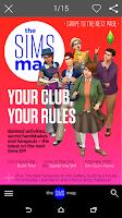 Screenshot of The Sims Magazine