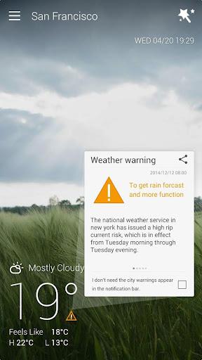 GO Weather Forecast & Widgets screenshot 6