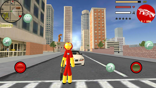 Download Iron Stickman Rope Hero Gangstar Crime For PC 1