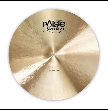 "18"" Paiste Masters - Extra Thin Crash"