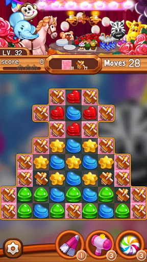 Candy Amuse: Match-3 puzzle android2mod screenshots 4