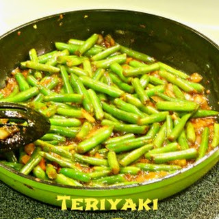 Garlic Teriyaki Green Beans