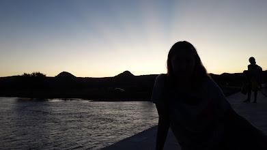 """Photo: Rayos Crepusculares, sobre las sombras de los """"nonos"""" + una"""