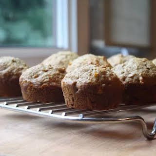 Whole Wheat Carrot Applesauce Muffins.