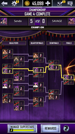 WWE SuperCard - Multiplayer Collector Card Game screenshot 6