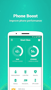 Smart  Clean - fast optimizer app Screenshot