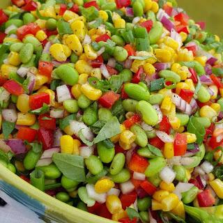 Edamame Summer BBQ Salad.
