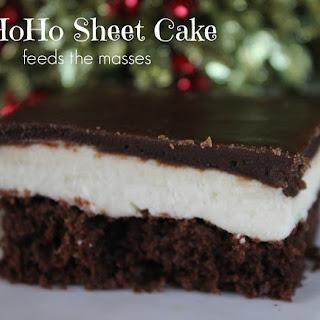 HoHo Sheet Cake
