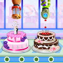 Wedding Party Cake Factory: Dessert Maker Games icon
