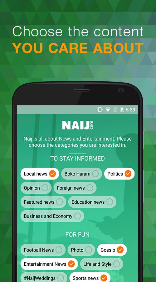 Nigeria News NAIJ.com- screenshot
