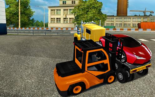 bagger autotransport gabelstapler simulator apps bei google play. Black Bedroom Furniture Sets. Home Design Ideas