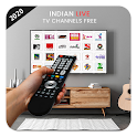 Indian Live TV Channels Free Online Guide icon