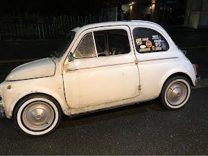 フィアット500  Fiat500D 1963'sのカスタム事例画像 Jimmyさんの2018年12月21日20:53の投稿