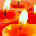 melting candle live wallpaper icon