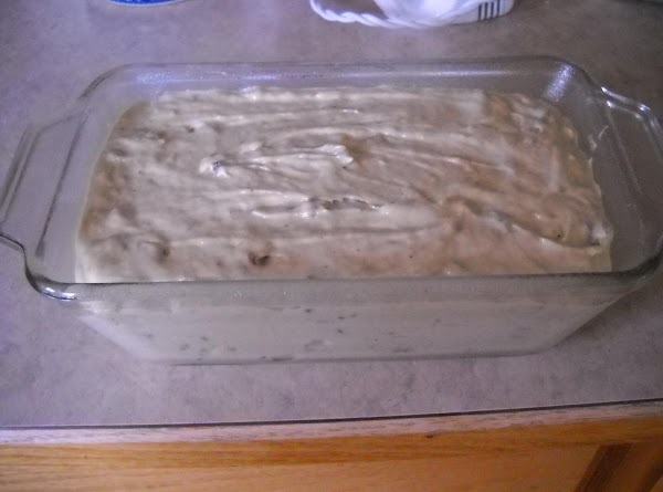 Pour into a greased and floured 9x5-inch loaf pan. Bake at 350 degrees, for...