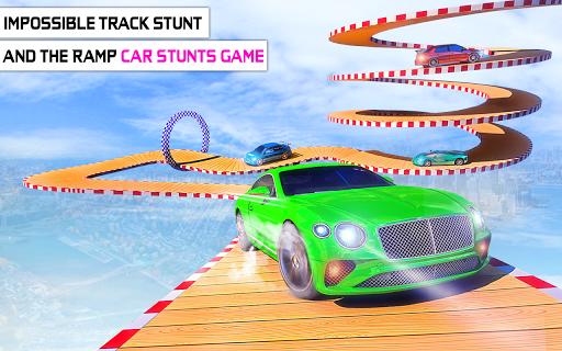 Mega Stunt Car Race Game - Free Games 2020 3.4 screenshots 6