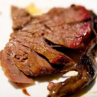 Slow-Smoked Beef Brisket.