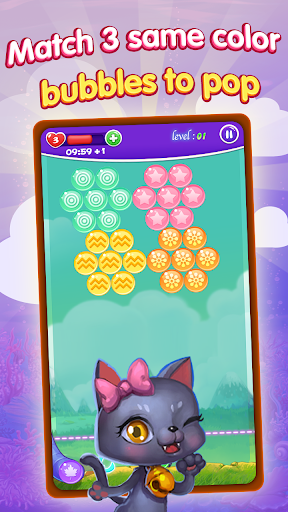 Crazy Cat Bubble Games  screenshots 3