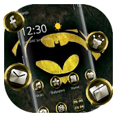 Black Hero Bat Theme Android APK Download Free By Abby Theme Center