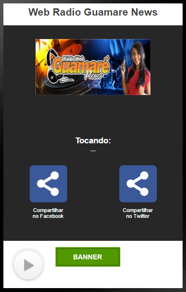 Web Radio Guamare News- screenshot