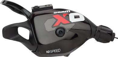 SRAM X0 10-Speed Rear Trigger Shifter with Handlebar Clamp alternate image 0