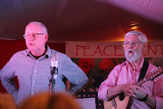 Photo: Tom Perry and Clive Brooks