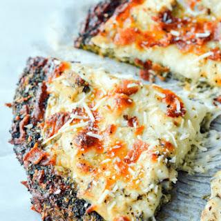 Low Carb Broccoli Crust Pizza.