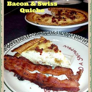 Bacon & Swiss Quiche