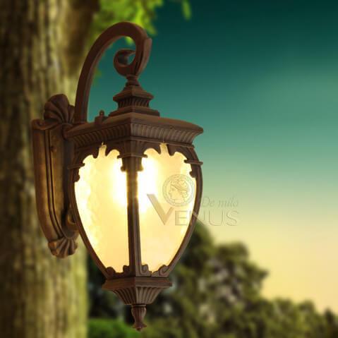 Đèn tường ngoài trời cổ điển Venus 0123