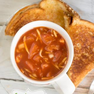 Chunky Crockpot Tomato Soup