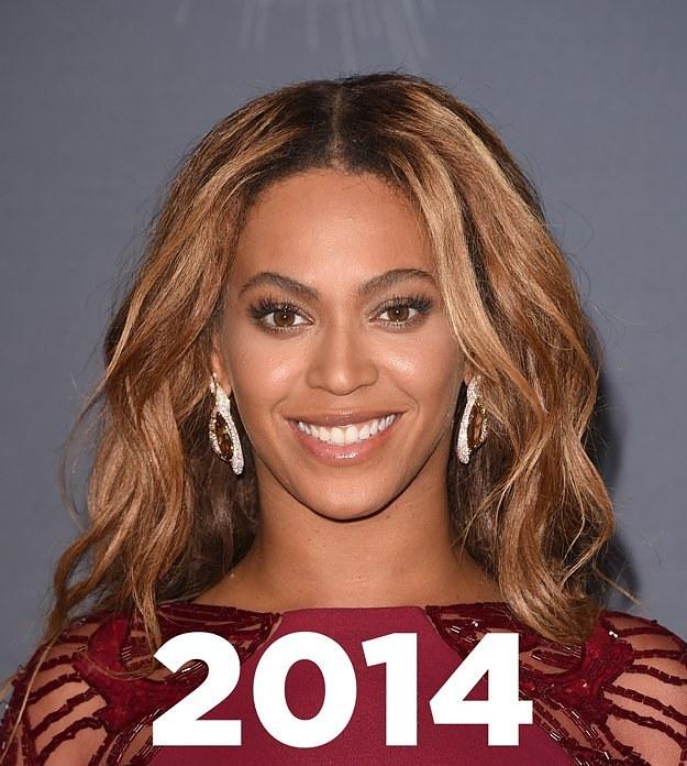 El increíble cambio de algunas famosas en un 1 añoç
