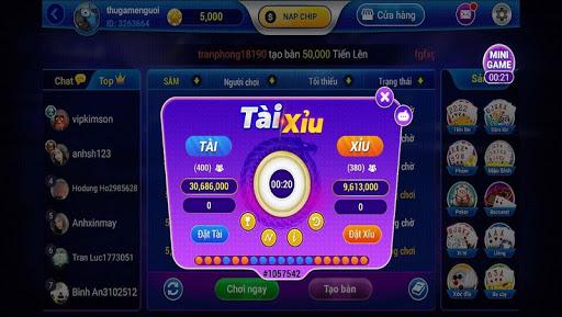 Game bai 3C - Danh bai doi thuong Online 1.0 screenshots 7