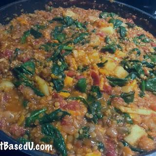 Fat Free Vegan Red Lentil Tarka Dal (Indian Lentil Curry) Recipe