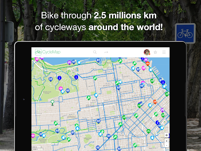 CycleMap : Bike Route Planner- screenshot thumbnail