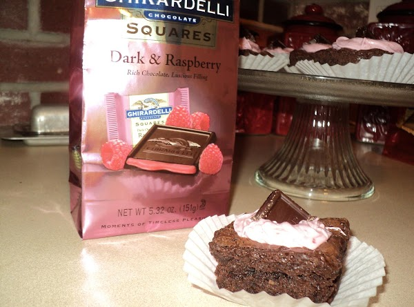 Frosting: Mix frosting with the Raspberry jam until blended well. Dollop on or use...