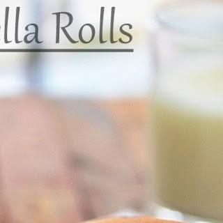 Nutella Bread Rolls Recipe