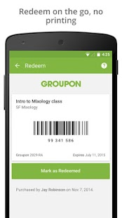 Groupon - Daily Deals, Coupons- screenshot thumbnail