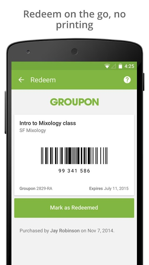Groupon - Daily Deals, Coupons- screenshot