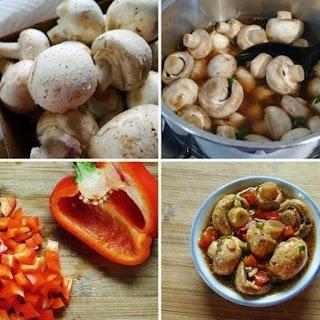 Quick Pickled Mushrooms