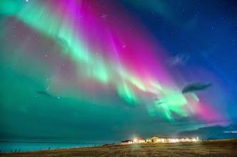 Photo: Costa su d'Islanda. Foto scattata da Simone Renoldi durante un viaggio di 90° EST a caccia di Aurore Boreali. www.90est.it/islanda-aurora-boreale.html