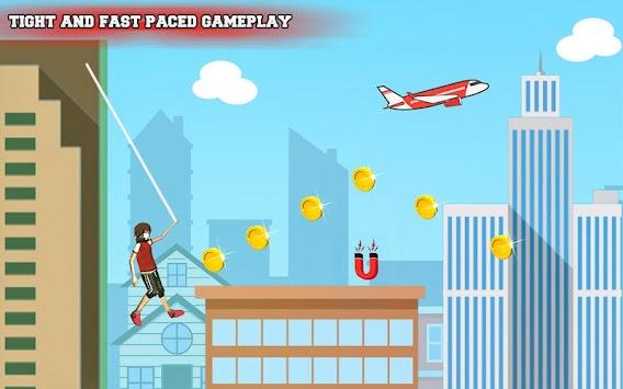 Flying Rope Guy apk screenshot