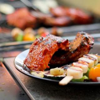 Paleo BBQ Sauce, Rhubarb Habanero.