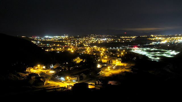 Washington, Utah, at night