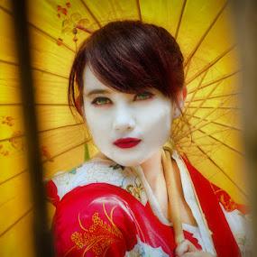 Geisha by Khomzin Arief - People Portraits of Women