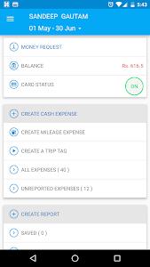 Happay - Expense Management screenshot 0