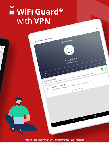 Mobile Security: VPN Proxy & Anti Theft Safe WiFi screenshot 19