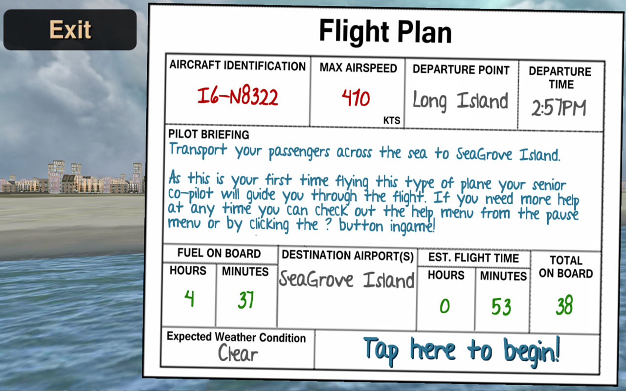 Airplane Pilot Sim- screenshot